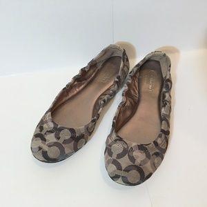 COACH Ballet Flats Slip On Size 5.5
